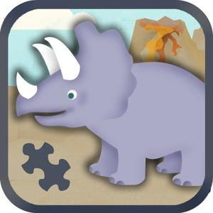 play Dinosaur For Kids: Cute Dino Train Jigsaw Puzzles For Preschool And Toddlers