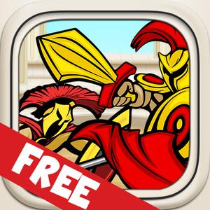 play Glory Spartans Battle Blast - Extreme Warrior Survival Mania