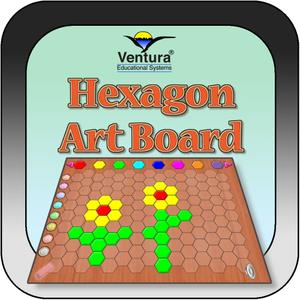 play Hexagon Art Board