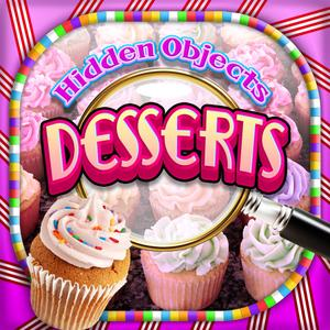 play Hidden Objects - Desserts & Candy Cupcakes Object Time Puzzle Free Photo Game