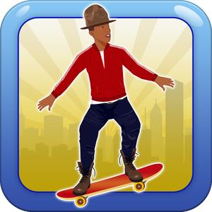 play Jumpy Happy Skateboard - Jump, Move, Jack, Stack Your Paper And Make It Rain