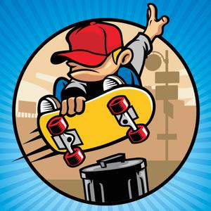 play Jumpy Tap Skater - Awesome Alex
