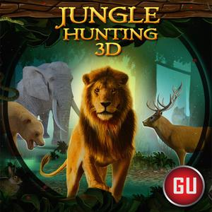 play Jungle Attack Sniper Hunting : 3D Safari Animal Shooting Game