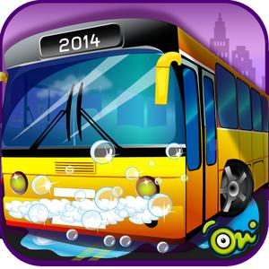play Little Bus Wash – Give Shiny & Tidy Look In Your Own Bus Washing Station
