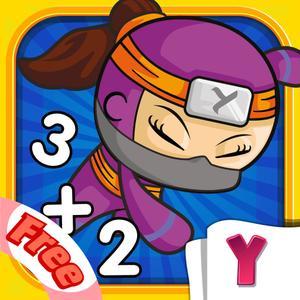 play Math Heroes 1 Free: Basic Operations - Fun Math For Kids
