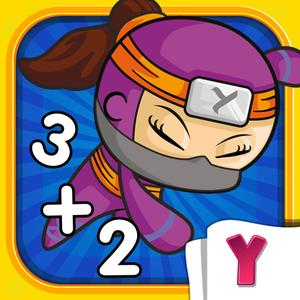 play Math Heroes 1: Basic Operations - Fun Math For Kids