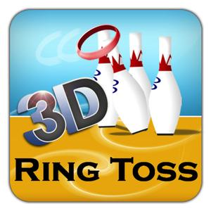 play Ring Toss 3D - Top Touch Strategy Flick Arcade Family Fun Simulation Game