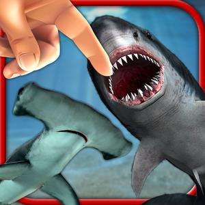 play Shark Fingers! 3D Interactive Aquarium Free