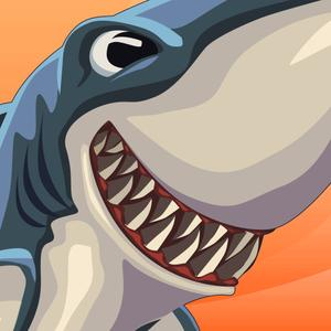 play Shark Vs. Surfer Runner Free