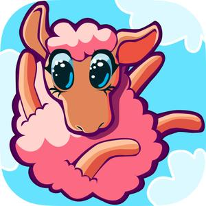 play Sheep Fall 3D