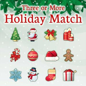 play Three Or More: Holiday Match