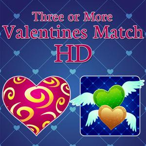 play Three Or More: Valentines Match Hd