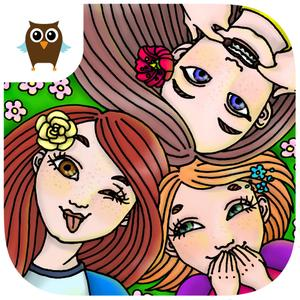 play Three Sisters Daily Dress Up - Kids Game