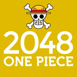 play 2048 One Piece Edition