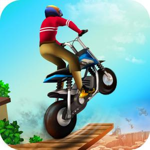 play Action Bike Stunt Rider Racing - Real Test Driving Game