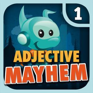 play Adjective Mayhem Hd - Level 1