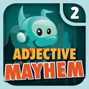 play Adjective Mayhem Hd - Level 2