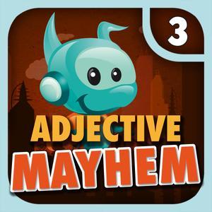 play Adjective Mayhem Hd - Level 3