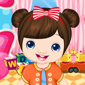 play Beautiful Baby Dressup
