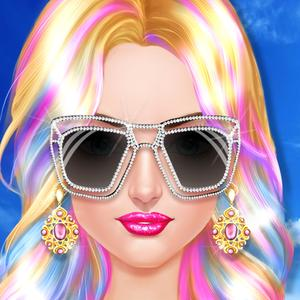 play Celebrity Hair Stylist - Summer Hairstyle Salon