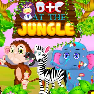 play Doctor At Jungle For Animals