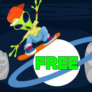 Extraterrestrial Eddie'S Hoverboard Mania-Free