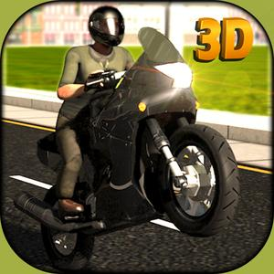 play Extreme Motor Bike Ride Simulator 3D – Steer The Moto Wheel & Show Some Extreme Stunts