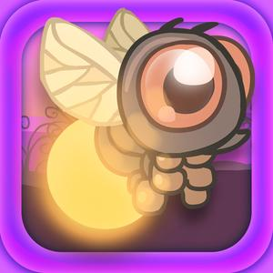 play Fire Fly Dash : Cute Wanderer Of The Forest Night