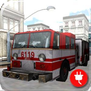 play Fire Truck Parking 3D