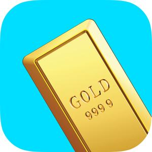 play Gold Rush Clicker - Nuggets And Bars Miner Fever