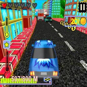 play Highway Surfers - Traffic Rush 3D