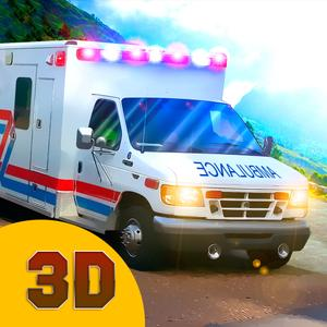 play Hill Climb Racing: Ambulance Driver 3D