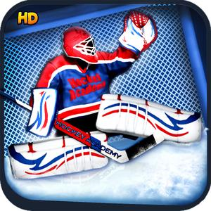 play Hockey Academy Hd - The Cool Free Flick Sports Game - Gold Edition