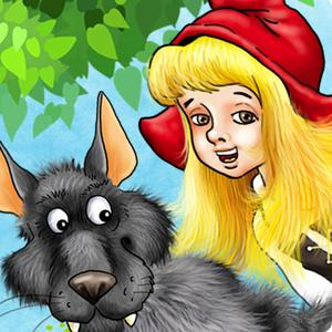 play Little Red Riding Hood (Interactive Book For Children)