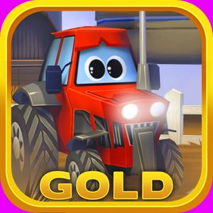 play Little Tractor In Action Gold: Best 3D Free Driver Game For Kids