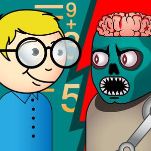 play Math Vs Undead School Edition: Basic Math Operations For Kids