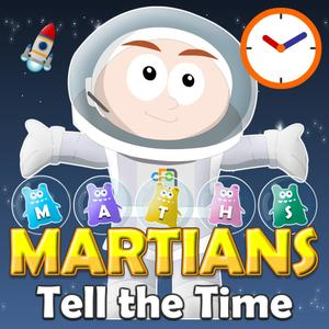 play Maths Martians Hd: Tell The Time