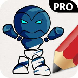 play Robots Coloring Book Pro