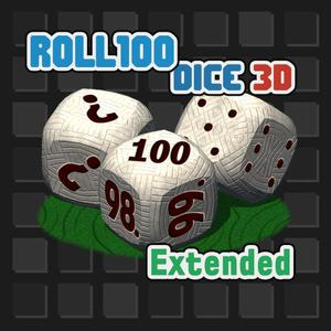 play Roll100 Dice 3D Extended