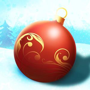 play Rolling Christmas Ball : The Tree Ornament Gift Incredible Race - Free Edition