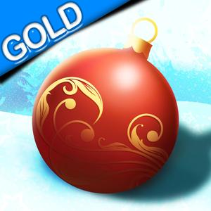 play Rolling Christmas Ball : The Tree Ornament Gift Incredible Race - Gold Edition