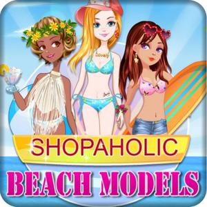 play Shopaholic Beach Models Dress Up Game