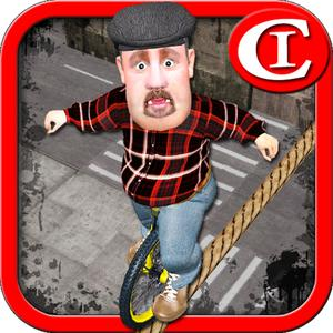 play Tightrope Unicycle Master 3D
