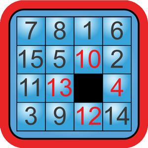 play Tiles 0-9 Sliding Tile Puzzle With Numbers