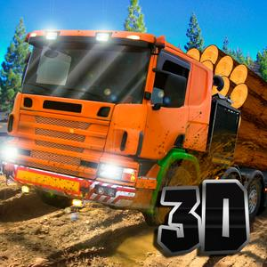 play Timber Truck Driving Simulator 3D Full