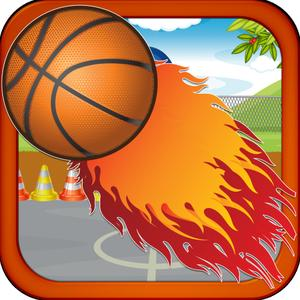 play 3 Point Hero - Basketball Beach Style