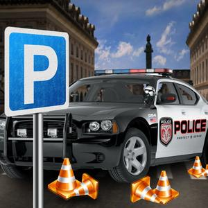 play 3D City Police Parking Frenzy
