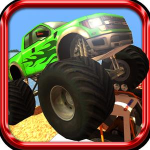 play 3D Monster Truck Island Offroad Rally - Parking Simulator Pro