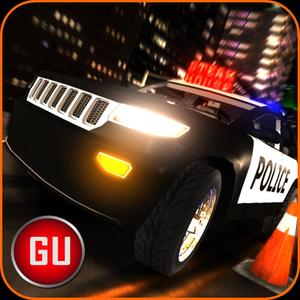 play 3D Police Car Driving School - Parking Edition