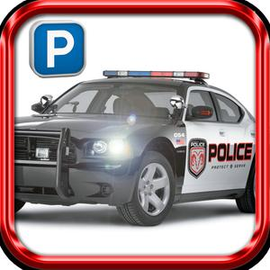 play 3D Police Car Parking Simulator Pro
